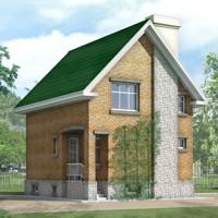 проект дома 32-99