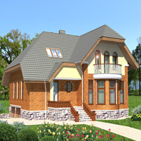 Проект дома 55-00