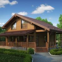 деревянные дома проекты 19-29.