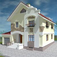 Проект дома 36-07