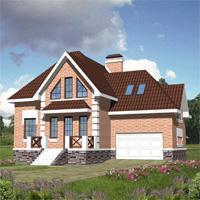 Проект дома 30-15