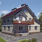 Проект дома 52-17