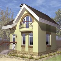 Проект дома 58-86