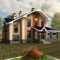 Проект дома 55-03