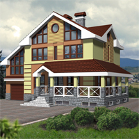 Проект дома 53-74