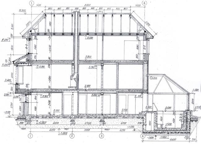 Проект дома 50-58