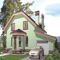 Проект дома 59-37