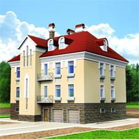 Проект дома 35-60