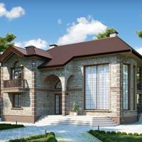 Проект дома 58-17