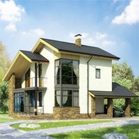 Проект дома 59-55