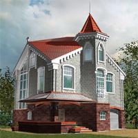 проект дома 80-08.