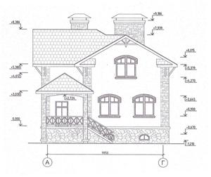 Фасад по проекту дома 47-49