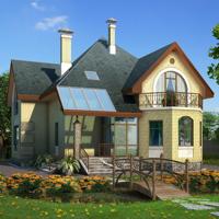 Проект дома площадью 181м2