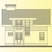 Проект дома 58-45