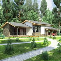 Проект дома 59-54