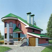 Проект дома 52-52