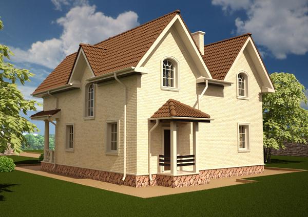 Проект дома 20-09 Вид2