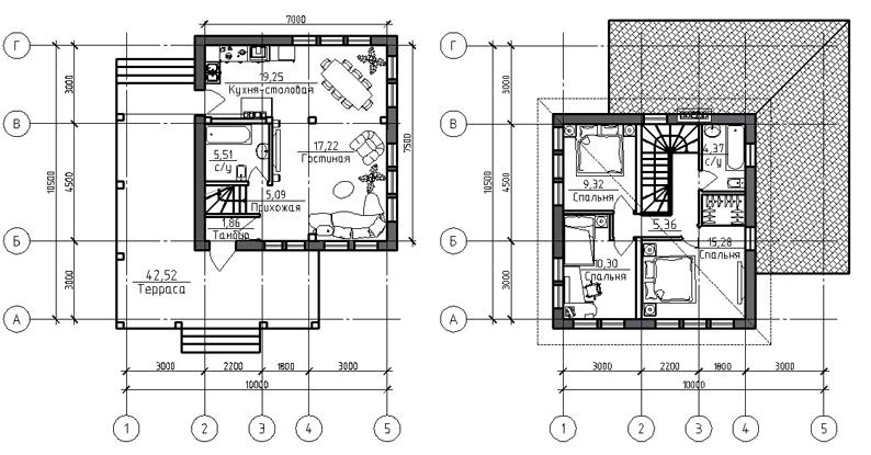 Проект дома 20-25