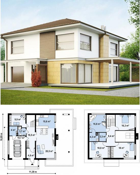 Проект дома от конкурентов