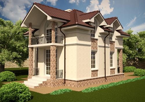Проект дома 50-82