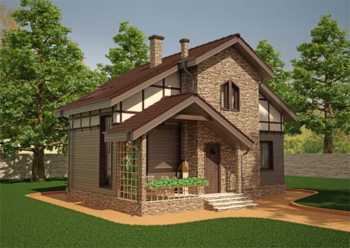 Проект дома 88-34