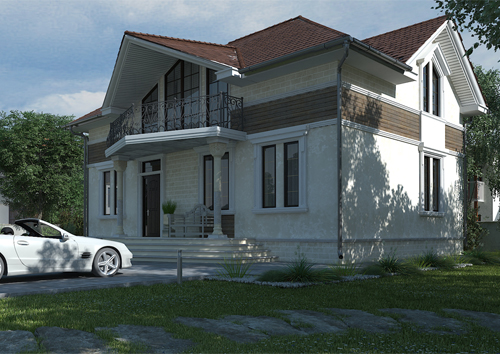 Проект дома 88-16