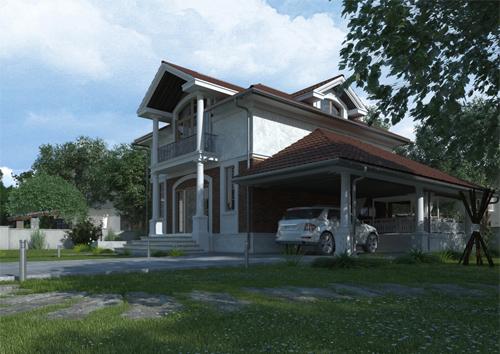 Проект дома 87-85
