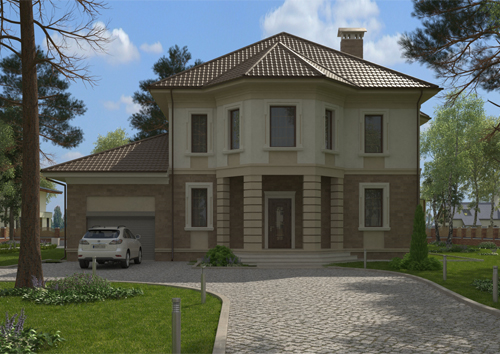 Проект дома 89-65