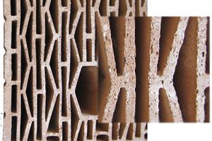 СуперТермо30 - это продуманная геометрия пустот и сверх поризованная структурка керамики.