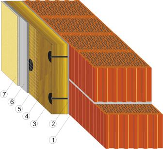 "СуперТермо30 - система скреплённой теплоизоляции (""мокрый фасад"")"