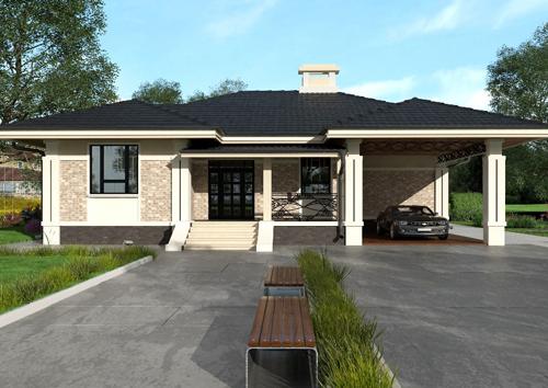 Проект дома 84-31