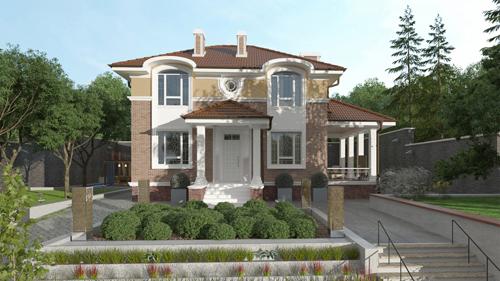 Проект дома 93-42