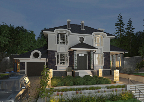 Проект дома 92-34