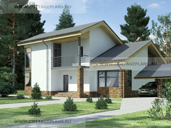 Проекты домов из бруса 6 на 8: фото, планировка