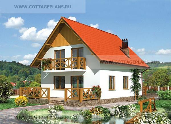 Балконы загородного дома фото.