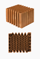 Теплоэффективные керамические блоки Кайман30