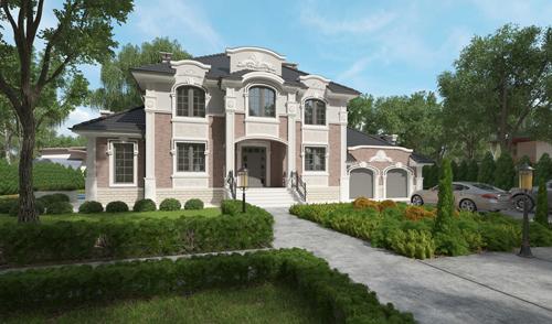 Проект дома 92-21