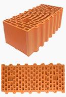 Обычные керамические блоки 510мм