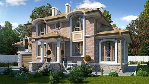 Ремонт загородного дома под ключ в Москве и области