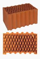 Обычные керамические блоки 440мм