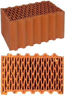 керамический блок Porotherm44