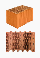 Обычные керамические блоки 380мм